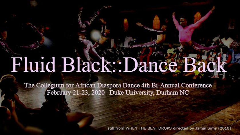 2020 Conference - Collegium for African Diaspora Dance (CADD)